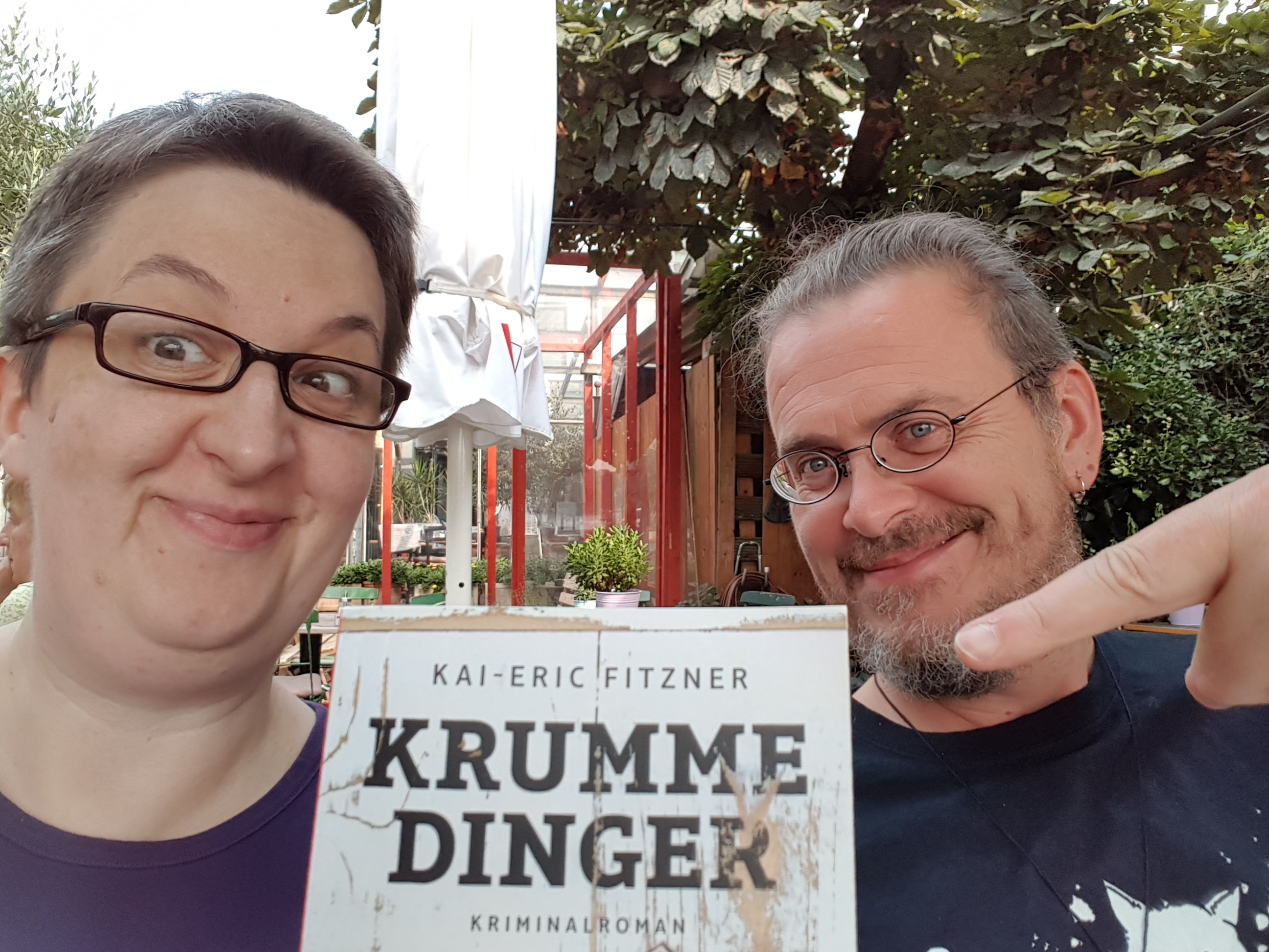 Annette und Kai mit Krumme Dinger
